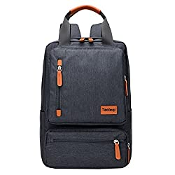 Super Modern Unisex Retro Canvas Laptop Backpack Multi-pocket Travel Backpack Cool Handbag Book Bag School Backpack