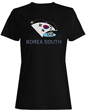 Nueva Cámara Fotográfica Sur De Corea Del Sur camiseta de las mujeres m446f