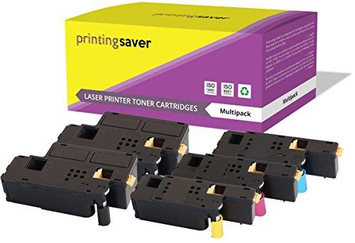 5 Premium Toner kompatibel zu 106R01630 106R01627 106R01628 106R01629 für Fuji Xerox DocuPrint CP105B CP205 CP205W CM205B CM205FW CM205F CP215W - Laser-drucker Fuji Xerox