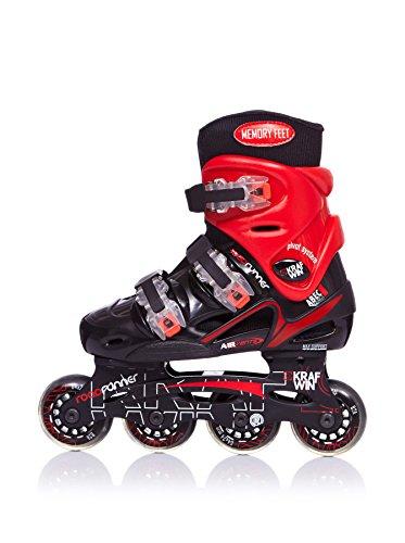 krafwin-road-runner-patines-en-linea-para-ninos-color-negro-rojo