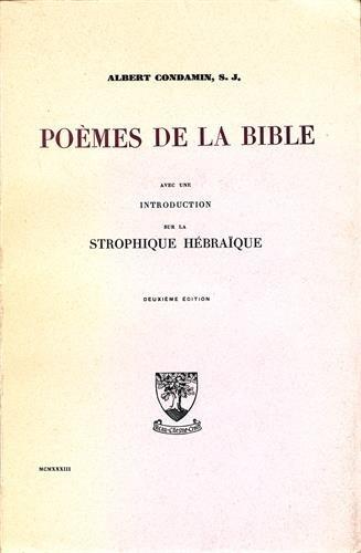 Poèmes de la Bible