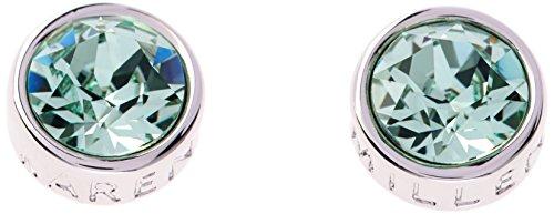 Karen-Millen-Logo-SilverMint-Crystal-Stud-Earring