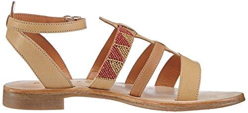 Apepazza REBECCA GAUCHO Damen Knöchelriemchen Sandalen Beige (Beige)