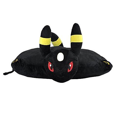 Katara - Coussin en peluche, en forme de Pokémon, cadeau idéal pour fans de Nintendo - figure Pokemon - Noctali