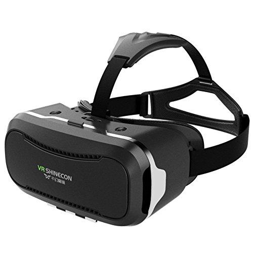 Gracetop Virtual-Reality-Brille, 3D, zwischen 4,7 bis 5,7Zoll(11,43 bis 15,24 cm), für iPhone...