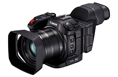 Canon XC15 Shoulder Camcorder 13.36MP CMOS 4K Ultra HD Negro - Videocámara (13,36 MP, CMOS, 12 MP, 8,29 MP, 10x, 2X)