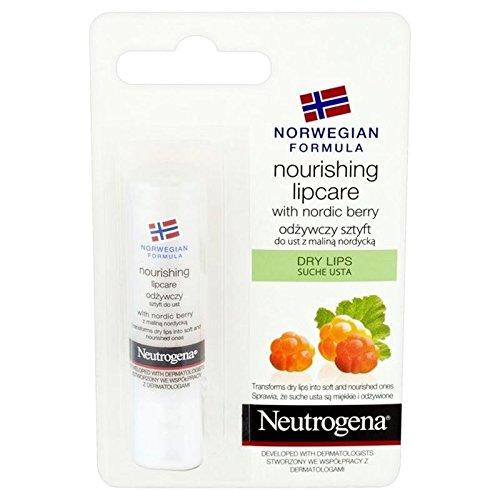 Neutrogena Lipbalm Nordico Bacca 4.8G (Confezione da 6)