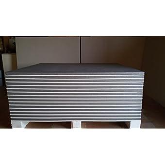 5paneles térmicos EPS grafitato + yeso 100x 120x 3cm aislamiento térmico Acústico interno