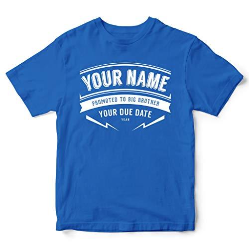 FunkyShirt Camiseta Personalizable Texto inglés «Promoted