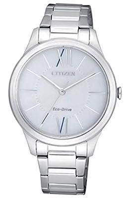 Reloj señora citizen eco drive EM0410-58A acero de Citizen