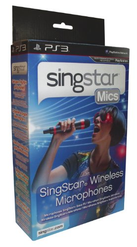 PlayStation 3 - Wireless SingStar Mikrophon (2 Stück) (Singstar Wireless Mikrofone)