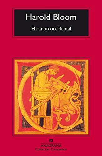 El Canon Occidental (COMPACTOS) por Harold Bloom
