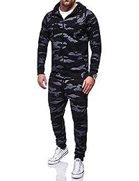 MT Styles jogging survêtement Camouflage homme R-658