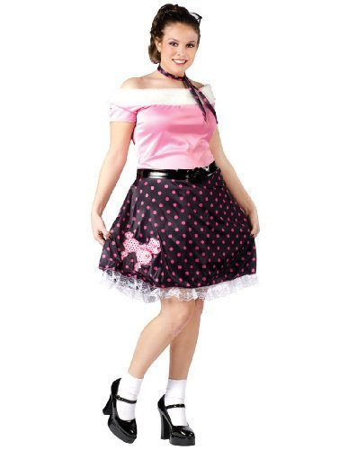 Plus Size Poodle Skirt Dress Plus