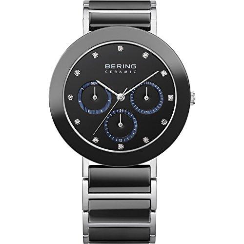 BERING Damen-Armbanduhr Analog Quarz Edelstahl 11438-742 -