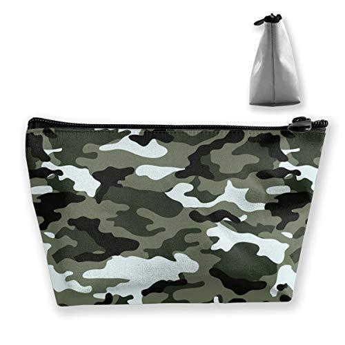 Amerikanisches Militär Car Camouflage Multifunktions Tixing Trapez Reise Make-Up Tasche Kosmetiktaschen 7x12x22CM