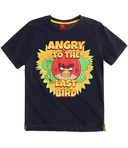 Angry Birds Ragazzi Maglietta manica corta - blu marino - 128
