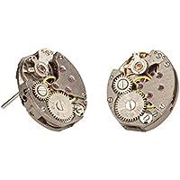 Handgefertigte Uhrwerk Steampunk Ohrstecker
