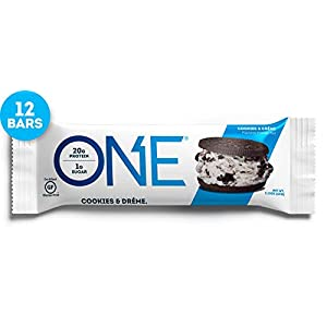 OhYeah! Nutrition One Bar - Confezione da 12 Barrette - Gusto Cookie & Cream 23 spesavip