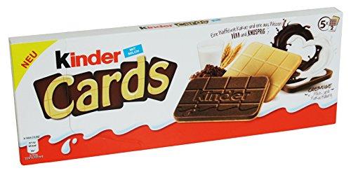 Kinder Cards Waffel, 1er Pack (1 x 128g)