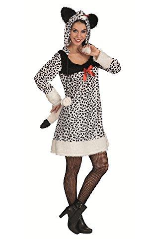 Dalmatiner Kostüm für Damen Gr. 44 46