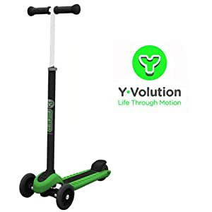 Yvolution Y Glider XL Scooter - Green