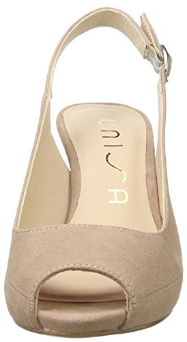 Unisa Damen Nick_17_ks Offene Sandalen mit Keilabsatz Pink (Tuscany)