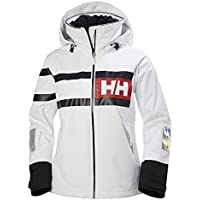 Helly Hansen W Salt Power Chaqueta, Mujer, Blanco (White), L