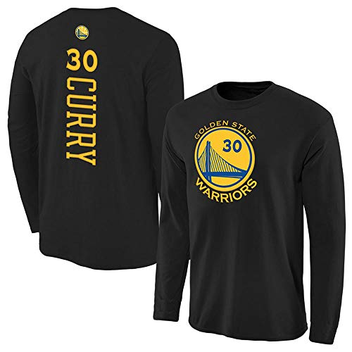 te Warriors Curry Training Sport Langarm T-Shirt aus Baumwolle ()