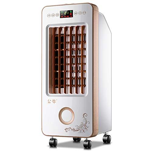 Everyday home Mute Klimaanlage lüfter Refrigeration Hohe kapazität Single lüfter luftbefeuchtung Voller kupferdraht motor Geeignet für wohnzimmer Haushalt (Farbe : Remote control) -