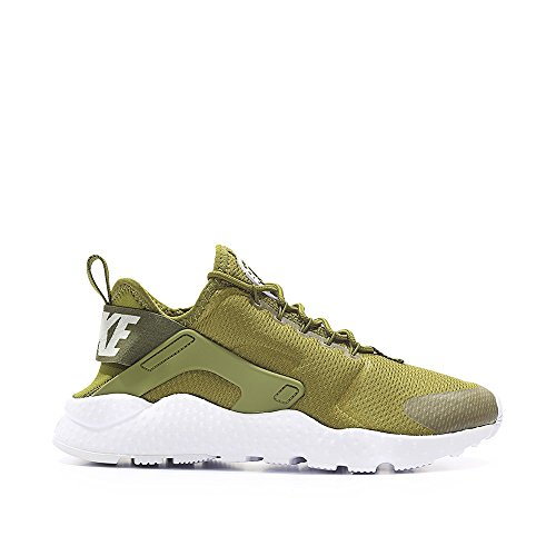 Nike W Air Huarache Run Ultra, Chaussures de Running Entrainement Fille Verde (Verde (olive flak/white))