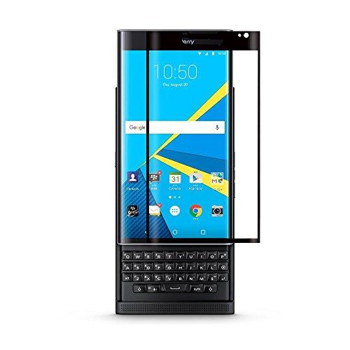 MYLB Durezza 0.2mm 9H vetro temperato Protezione libera dello schermo per Blackberry Priv smartphone (Nero)