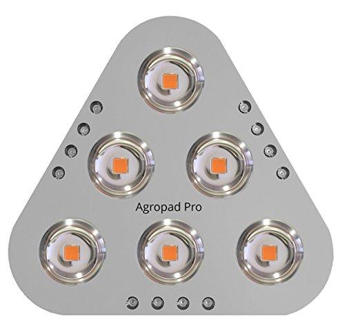 Nueva LED Horticole agropad Pro 1300W con Mode flowerboost y COB con diffusion para cultura de de interior. Incluye Kit de fijación. Ideal para la cultura Indoor/horticultura de interior y la cultivos.