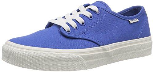Vans W Camden Stripe, Baskets mode femme Bleu (Natural Stripe)