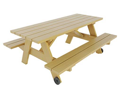 Construisez Votre Propre Table de Pique-Nique W/Plans de bancs DIY extérieur Patio Meubles de Jardin
