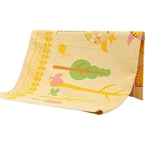 cojín del pañal de bebé portable del período fisiológico de las mujeres impermeables transpirables y lavables de productos de colchón de los niños recién nacidos (74 * 98cm)