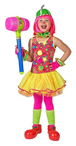Clown Miley Kostüm für Mädchen Gr. -