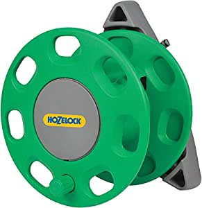 Hozelock 2420 30 Meters Compact Wall Mounted Hose Reel with Hozelock Hose Guide