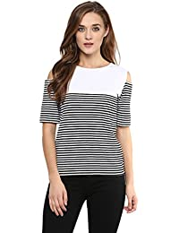 Miss Chase Women's Cut-Out Top
