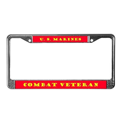 CafePress Military Nummernschild Rahmen US Marines USMC Lizenz Rahmen-Standard -
