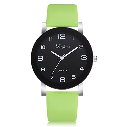 Uhren Damen Sportuhr Frauen Streifen Blumentuch Armbanduhr Quarz Vorwahlknopf Armband Uhr Luxus Uhrenarmband Exquisit uhr ABsoar