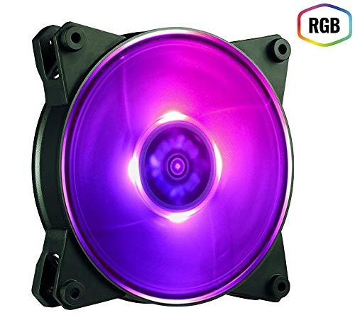 Cooler Master MasterFan Pro 140 Air Flow RGB Gehäuselüfter 'RGB LED, 500 - 800 ± 10% UPM, 140mm' MFY-F4DN-08NPC-R1