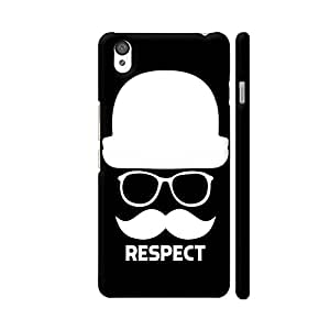 Colorpur OnePlus X Cover - Men Respect On Black Case