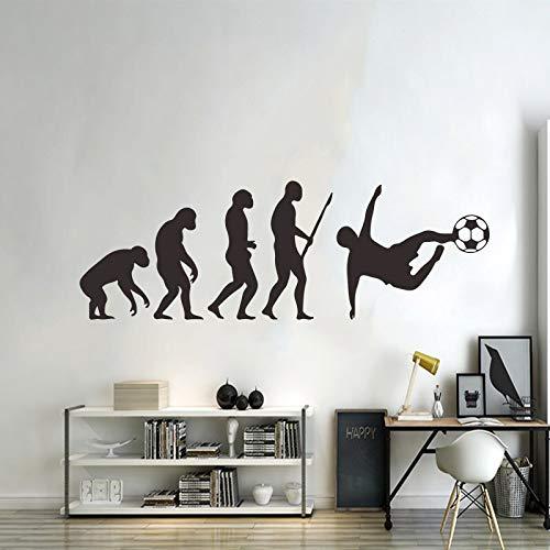 Darwin evolution pvc wandaufkleber wohnzimmer kinder schlafzimmer studie zu hause diy dekorative abnehmbare wasserdichte wandaufkleber