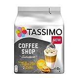 Tassimo Kapseln Coffee Shop Selections Toffee Nut Latte, 40 Kaffeekapseln, 5er Pack (5 x 268 g)