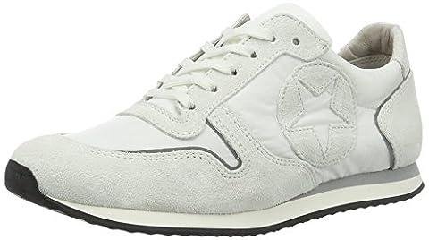 Kennel und Schmenger Schuhmanufaktur Damen Trainer Sneakers, Weiß (Bianco Sohle Grau-Weiss), 38 EU (5 UK)