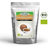 BioNutra Kokosblütenzucker Bio 1000 g braun, Kokoszucker, nicht raffiniert, natürlicher Blütenzucker aus kontrolliert biologischem Anbau.