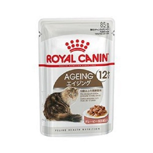 Royal Canin Frischebeutel Multipack Health Nutrition Ageing +12, 12er Pack (12 x 85 g) (Diätetische Omega-3)