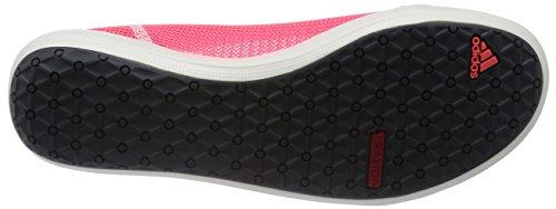 adidas Boat Slip-On Sleek, Ballerine da Donna Rosso (flash red s15/dark grey/chalk white)