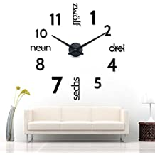 suchergebnis auf f r wanduhren xxl. Black Bedroom Furniture Sets. Home Design Ideas
